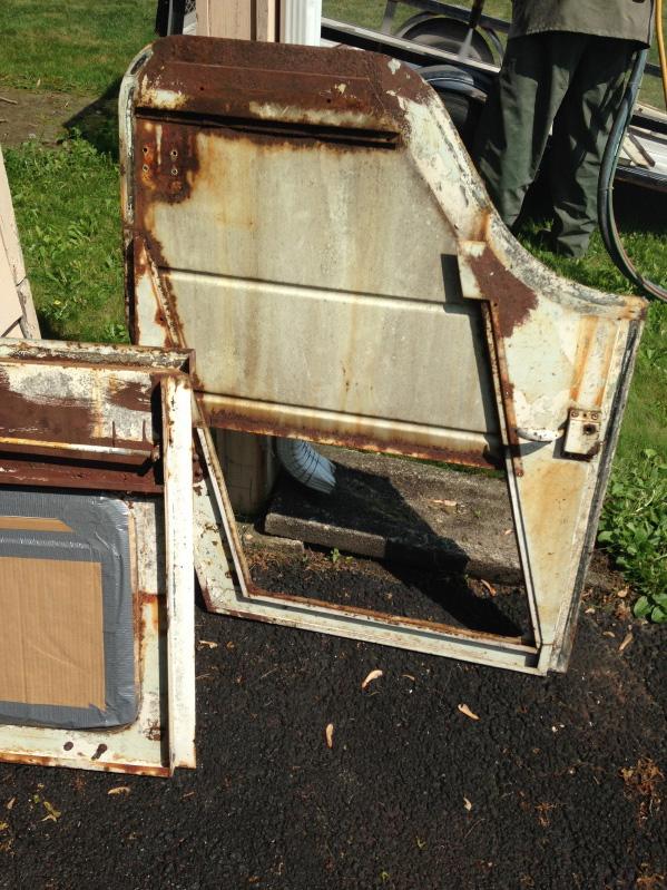 Meyer Metal Cab Doors & Rear Hatch